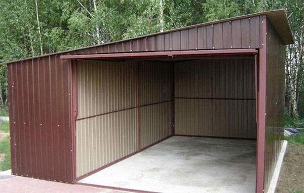 Металопрофильный гараж