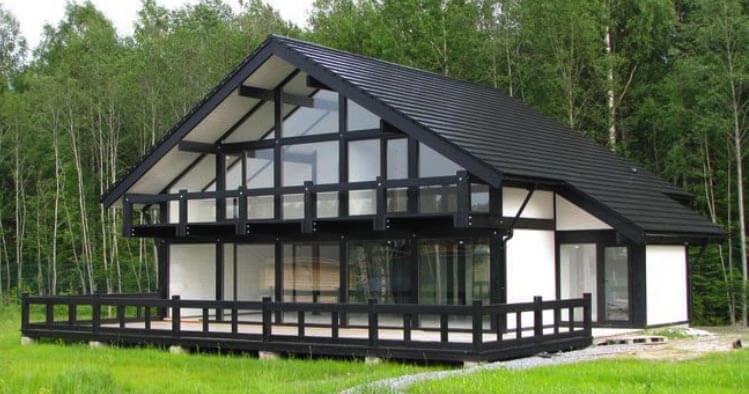 Технология строительства фахверкового дома
