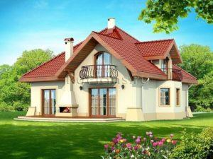 Основные правила проектирования дома с мансардой