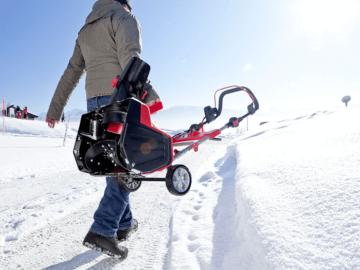 Электрические снегоуборщики