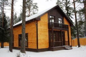 Как создаются брусовые дома?