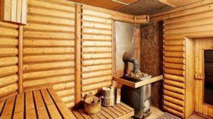 Внутренний проект бани