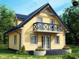 Виды крыш для домов с мансардой