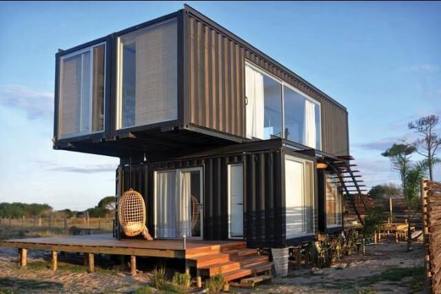 Как построить дом из контейнера