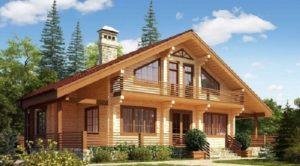 Преимущество домов из клееного бруса