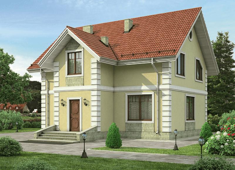 Дом из пеноблоков под ключ проекты и цены
