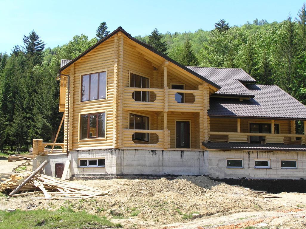 дома из калиброванного бруса