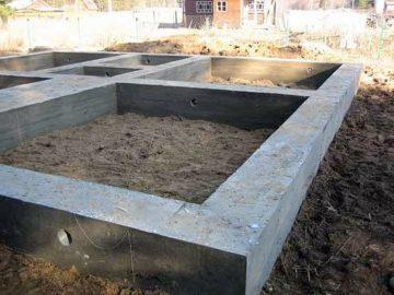 Фундамент под сруб