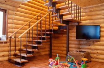 Модульная лестница из дерева