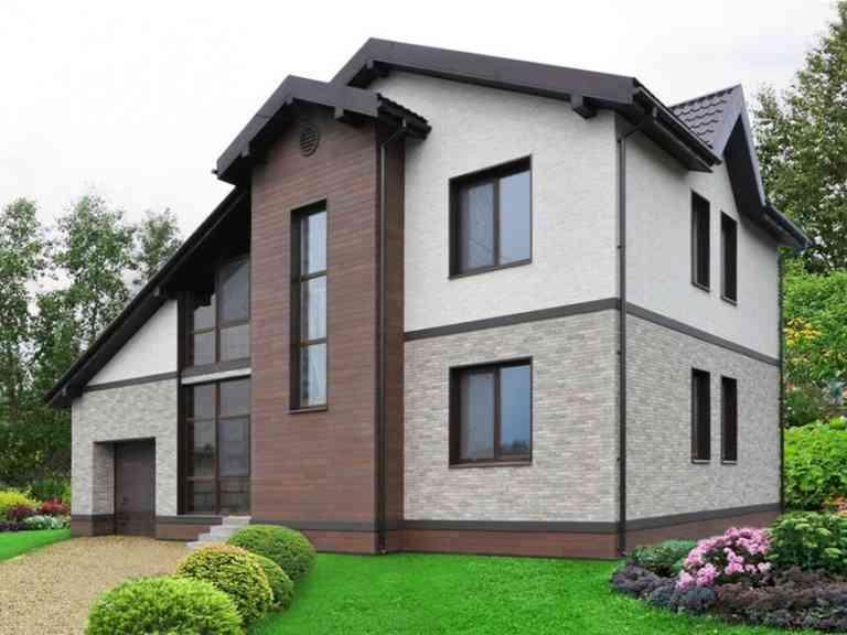 Проект домов из пеноблоков