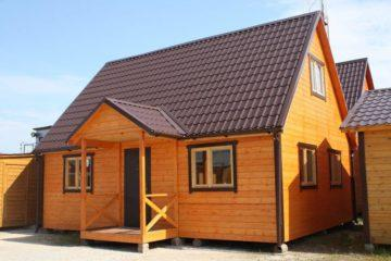Щитовые дачные домики
