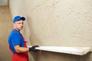 Польза штукатурки стен