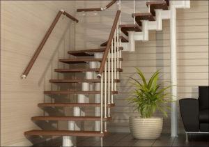 Выбор древесины для межэтажной лестницы