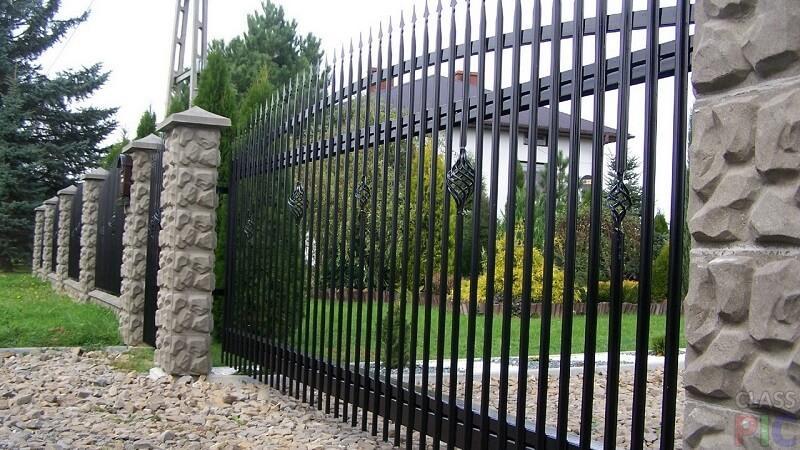 Как сделать кованый забор