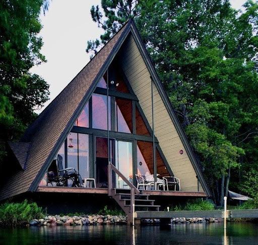 Дешевый дом шалаш
