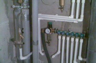Водопровод из пропилена